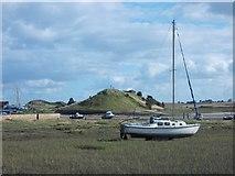 NU2410 : River Aln - estuary scene by Neil Theasby