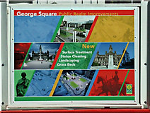 NS5965 : George Square redevelopment works by Thomas Nugent
