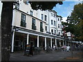 TQ5838 : The Ragged Trousers, in The Pantiles by Barbara Carr