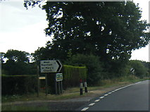 TF8825 : A1065 junction near East Raynham by Colin Pyle