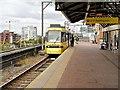 SJ8297 : Tram at Cornbrook by David Dixon