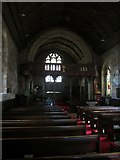 NU2229 : Interior of Church of St Ebba, Beadnell by Graham Robson