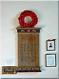 SO9700 : Great War Roll of Honour, St Matthew's Church, Coates by Brian Robert Marshall