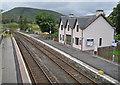 NH1658 : Achnasheen station by Richard Dorrell