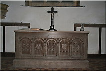TF3579 : Altar in the Church of St. Michael, Burwell by Chris