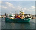 J5082 : The 'Mytilus' departing Bangor by Rossographer