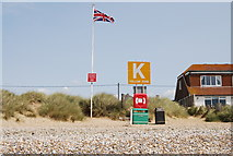 TQ9618 : Meeting point K, Camber Sands by N Chadwick
