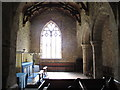 NY9393 : St. Cuthbert's Church, Elsdon - south transept (interior) by Mike Quinn