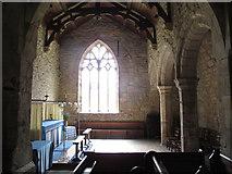 NY9393 : St. Cuthbert's Church, Elsdon - south transept (interior) by Mike Quinn