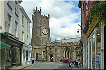 SX3384 : Church of St Mary Magdalene, Launceston by Mike Smith