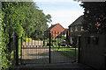 SP1267 : Toms Close, gated development off Ullenhall Street by Robin Stott