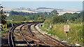 TQ0206 : Railway tracks near Arundel by Malc McDonald