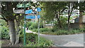 TQ4178 : Thames Path and Cycle Route, Charlton by Malc McDonald