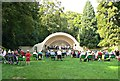 SU1583 : Concert in The Bowl, Town Gardens, Swindon by Brian Robert Marshall