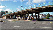 J3474 : Station Street/Bridge End flyover, Belfast (8 in 2013) by Albert Bridge