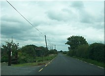 N1019 : View east along the R357 from the turnoff to Cloghan Lough by Eric Jones
