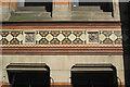 SP0687 : Birmingham School of Art, detail of tiled frieze by Robin Stott