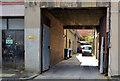 J3374 : Gated entry, Belfast by Albert Bridge