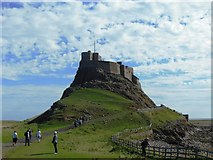 NU1341 : Lindisfarne Castle by Bill Henderson