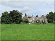 NY9393 : Elsdon village green by Mike Quinn