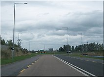 N3422 : Roundabout on the Tullamore Bypass at the junction of the N52, N80, and R443 by Eric Jones