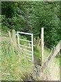 SE0127 : Gate on Hebden Royd FP34 by Humphrey Bolton