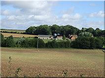 SK7260 : Farmland, Beesthorpe Hall Farm by JThomas