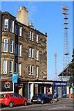 NT2774 : Dalziel Place at Meadowbank Stadium, Edinburgh by Leslie Barrie