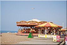TQ3103 : A carousel, Brighton Beach by N Chadwick