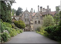NU0702 : Approach to Cragside House, Rothbury by Stanley Howe