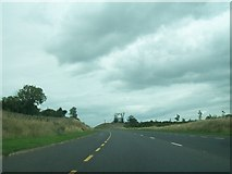 N3427 : The N52 Tullamore Bypass cutting through an esker by Eric Jones