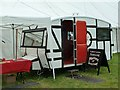 SJ1901 : The Andrew Logan travelling Museum of Sculpture at Berriew Show by Penny Mayes