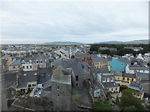 SC2667 : Across the rooftops from Castle Rushen by Richard Hoare