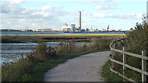 TQ8068 : Saxon Shore Way near Gillingham by Malc McDonald