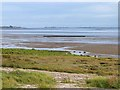 NY1465 : Solway shore at Powfoot by Oliver Dixon