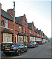 SK5641 : Foxhall Road: terraced houses by Watson Fothergill by John Sutton