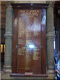 TQ2679 : Roll of Honour inside the Natural History Museum by Helen Steed