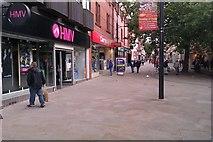 SU1584 : South-east along Regent Street, Swindon by Brian Robert Marshall
