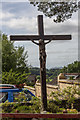 SO0561 : Crucifix, Our Lady of Ransom and Holy Souls Catholic Church, Llandrindod Wells, Powys by Christine Matthews