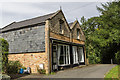 SO0560 : Former Shops, Rock Park, Llandrindod Wells, Powys by Christine Matthews