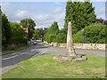 SK8832 : Harlaxton Cross by Alan Murray-Rust