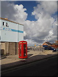 SY6874 : Portland: phone box at Castletown by Chris Downer