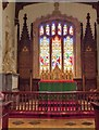 SK9239 : Belton Church, Altar and East Window by David Dixon