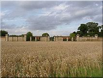 SK8932 : Harlaxton Manor Kitchen Garden by Alan Murray-Rust