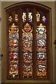 SK9239 : Parish Church of St Peter and St Paul, Armorial Window by David Dixon