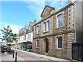 SW6439 : Masonic Hall & Cross Street, Camborne by Mike Smith