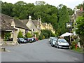 ST8477 : Castle Combe - Village centre by Rob Farrow