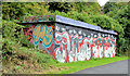 J3470 : Graffiti, Lagan towpath, Stranmillis, Belfast (September 2013) by Albert Bridge
