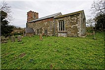 TF3579 : The Church of St Michael, Burwell by Dave Hitchborne