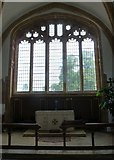 ST3505 : Forde Abbey Chapel: altar by Basher Eyre